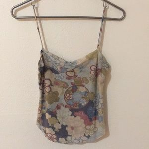 Vintage urban outfitters tank top Floral print